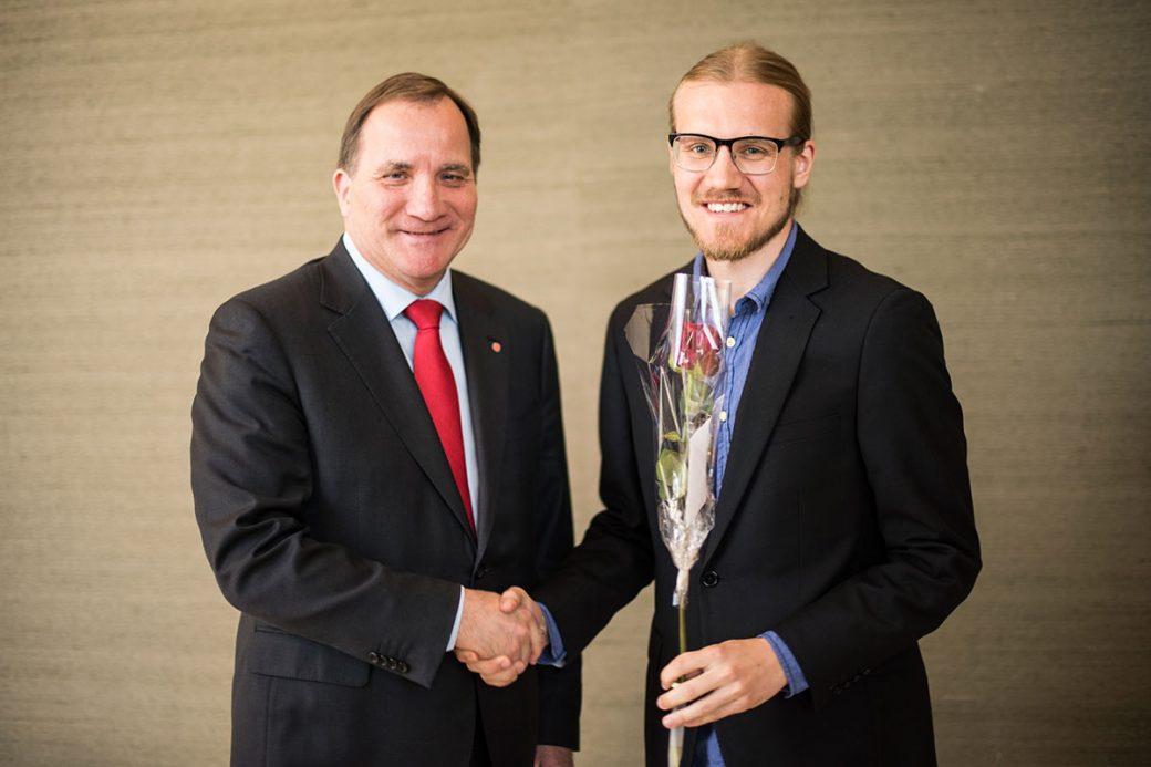 Mattias Torstensson och Stefan Löfven